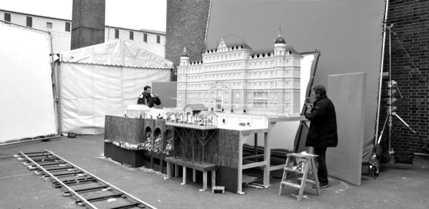 Model of Grand Budapest Hotel